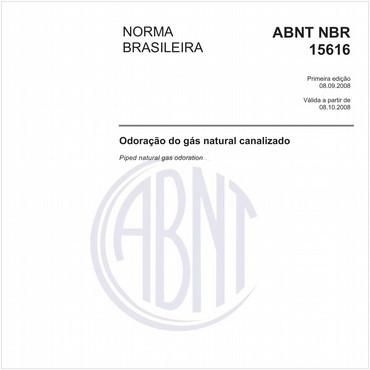 NBR15616 de 09/2008