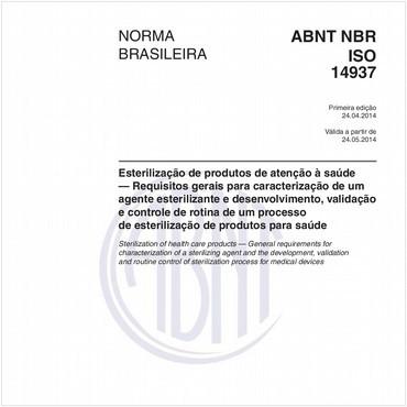 NBRISO14937 de 04/2014