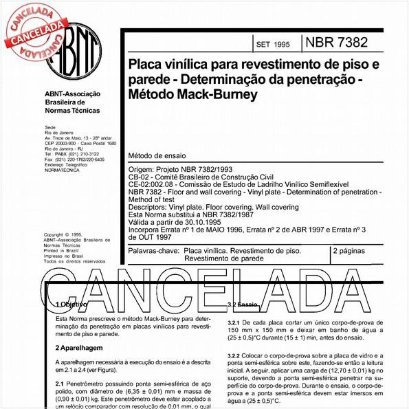 NBR7382 de 04/2006