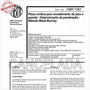 NBR7382 de 09/1995