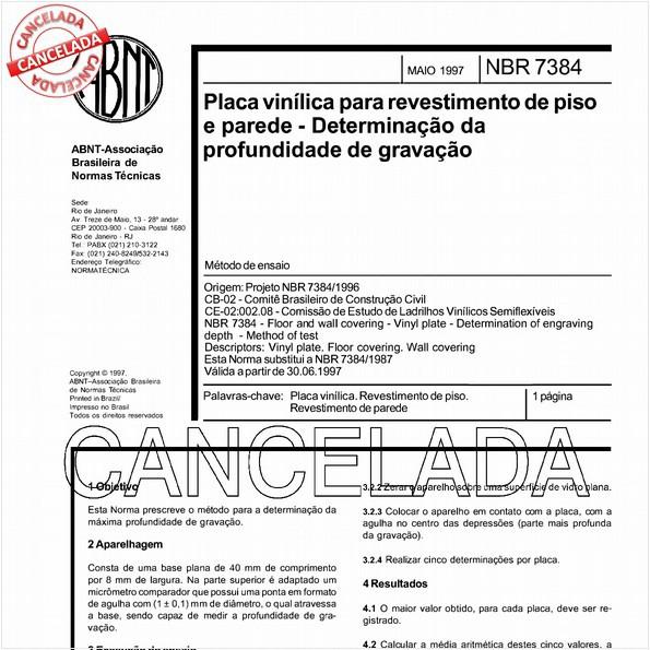 NBR7384 de 04/2006