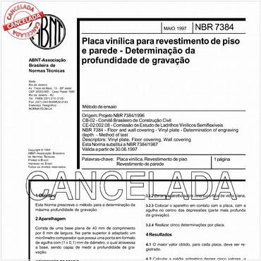 NBR7384 de 05/1997