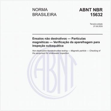 NBR15632 de 11/2013
