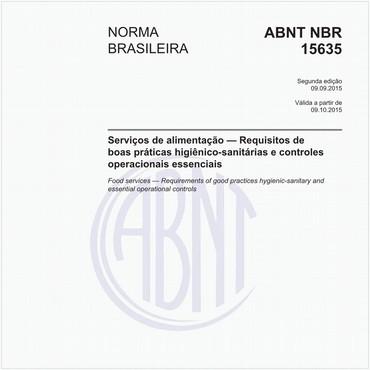 NBR15635 de 09/2015