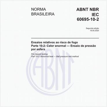 NBRIEC60695-10-2 de 05/2020