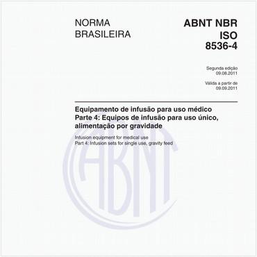 NBRISO8536-4 de 08/2011