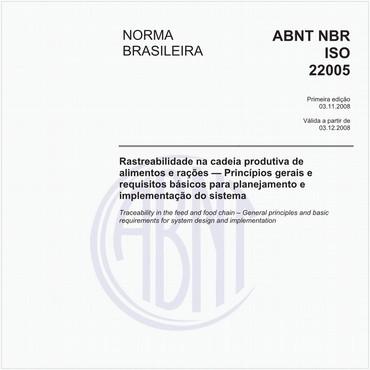 NBRISO22005 de 11/2008