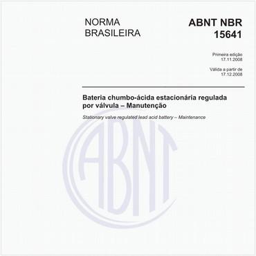 NBR15641 de 11/2008