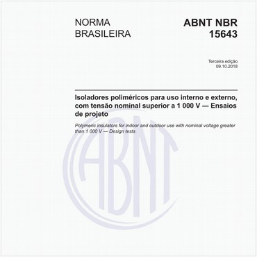 NBR15643 de 10/2018
