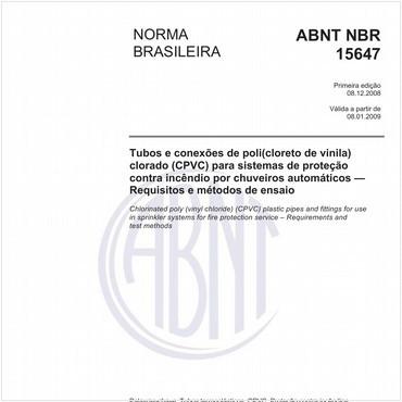 NBR15647 de 12/2008