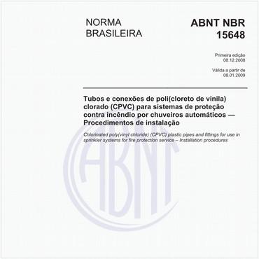 NBR15648 de 12/2008