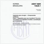 NBR15628-1 de 07/2016