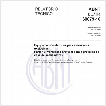 ABNT IEC/TR60079-16 de 02/2009