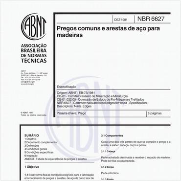 NBR6627 de 12/1981