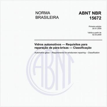 NBR15672 de 01/2009
