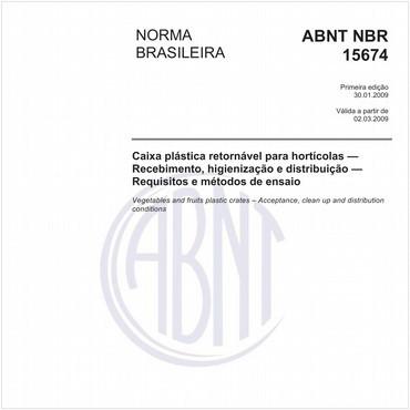 NBR15674 de 01/2009