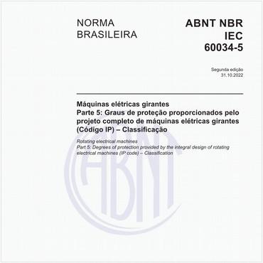 NBRIEC60034-5 de 02/2009