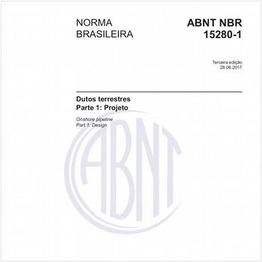 NBR15280-1 de 06/2017
