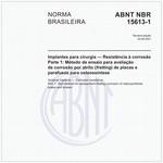 NBR15613-1 de 01/2017
