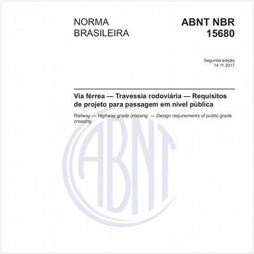NBR15680 de 11/2017