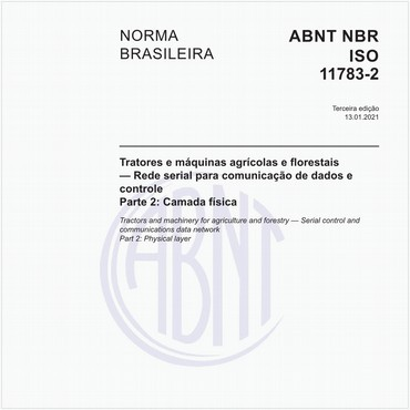 NBRISO11783-2 de 03/2017