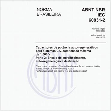 NBRIEC60831-2 de 02/2009