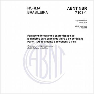 NBR7108-1 de 09/2011