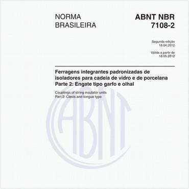NBR7108-2 de 04/2012