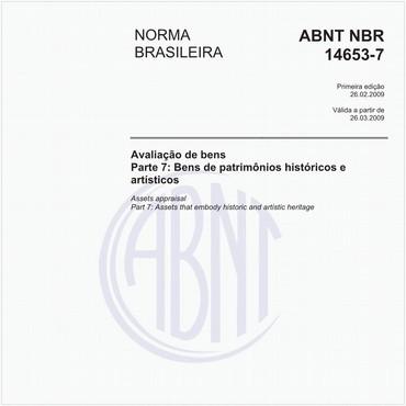 NBR14653-7 de 02/2009