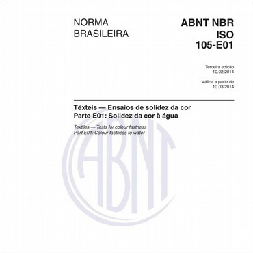 NBRISO105-E01 de 02/2014