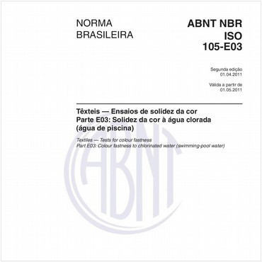 NBRISO105-E03 de 04/2011