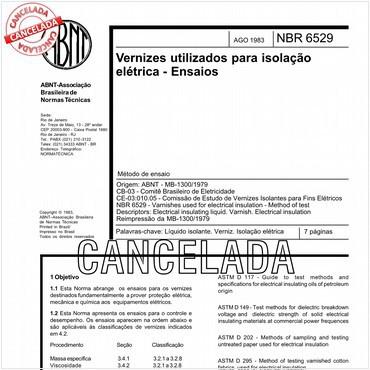 NBR6529 de 08/1983
