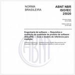 NBRISO/IEC25020