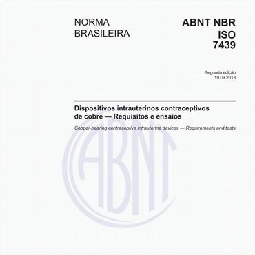 NBRISO7439 de 09/2018