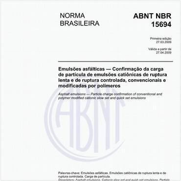 NBR15694 de 03/2009