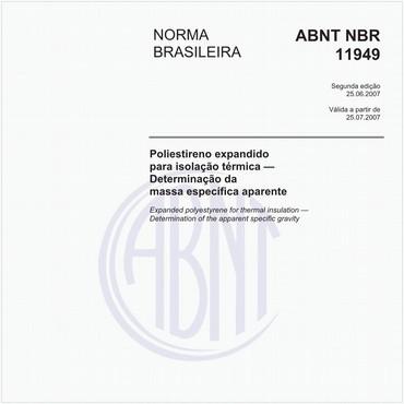 NBR11949 de 06/2007