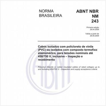 NBRNM243 de 04/2009