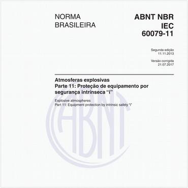 NBRIEC60079-11 de 11/2013