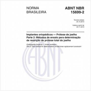 NBR15699-2 de 10/2013