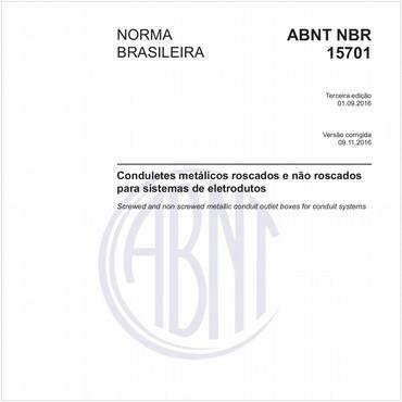 NBR15701 de 09/2016