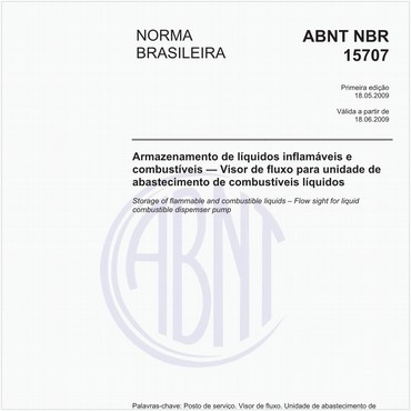 NBR15707 de 05/2009