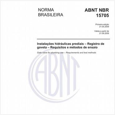 NBR15705 de 05/2009
