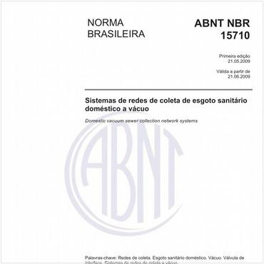 NBR15710 de 05/2009