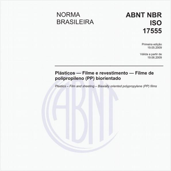 Plásticos - Filme e revestimento - Filme de polipropileno (PP) biorientado
