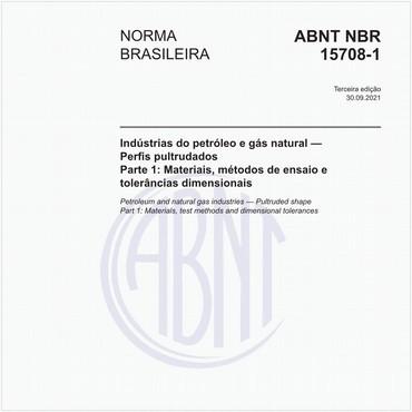 NBR15708-1 de 01/2014