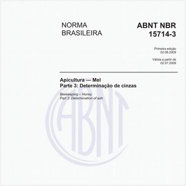 NBR15714-3 de 06/2009