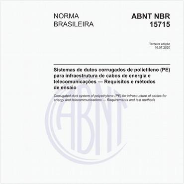 NBR15715 de 11/2018