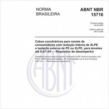 NBR15716 de 06/2009