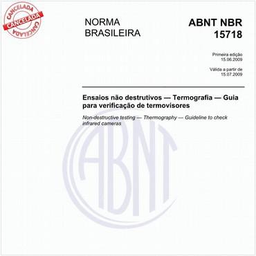 NBR15718 de 06/2009