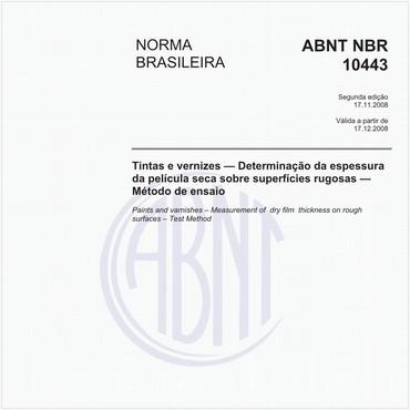 NBR10443 de 11/2008